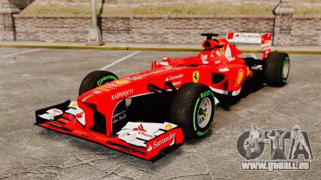 Ferrari F138 2013 v3 für GTA 4