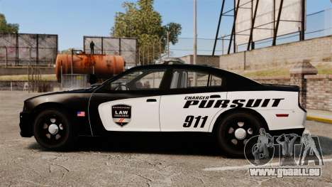 Dodge Charger Pursuit 2012 [ELS] für GTA 4 linke Ansicht