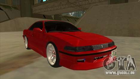Toyota Chaser JZX81 Touge Style für GTA San Andreas linke Ansicht