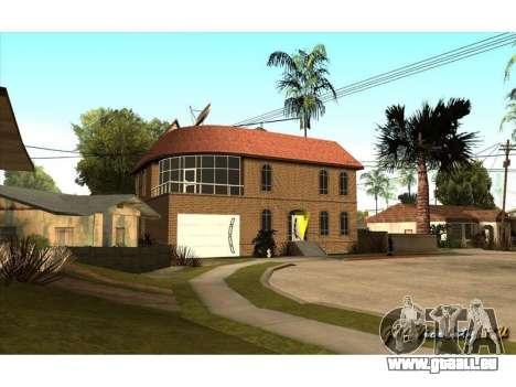 New CJ House pour GTA San Andreas deuxième écran