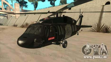 Sikorsky UH-60L Black Hawk Mexican Air Force pour GTA San Andreas