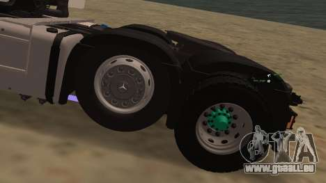 Mercedes-Benz Actros für GTA San Andreas Seitenansicht