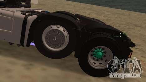 Mercedes-Benz Actros pour GTA San Andreas vue de côté