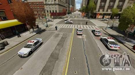 Plus de policiers pour GTA 4 secondes d'écran