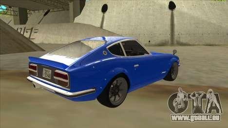 Nissan Wangan Midnight Devil Z S30 pour GTA San Andreas vue de droite
