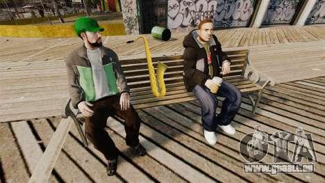 Un nouveau saxophone pour GTA 4