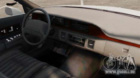 Chevrolet Caprice 1994 [ELS] für GTA 4 Innenansicht