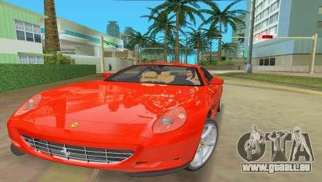 Ferrari 612 Scaglietti 2005 pour GTA Vice City