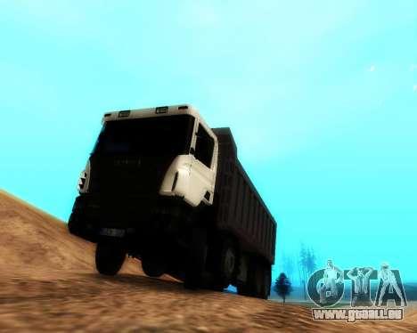 Scania P420 8X4 Dump Truck pour GTA San Andreas laissé vue