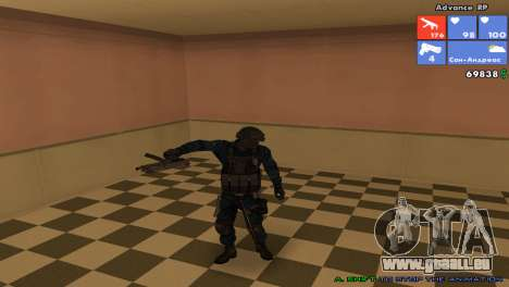 SWAT-Haut für GTA San Andreas her Screenshot