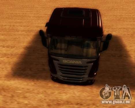 Scania R440 pour GTA San Andreas vue arrière