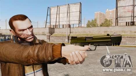Chargement automatique pistolet USP H & K v5 pour GTA 4