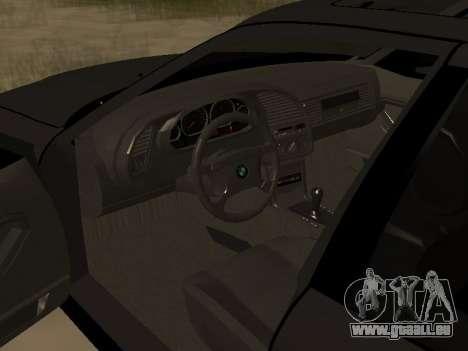 BMW 320i E36 für GTA San Andreas rechten Ansicht
