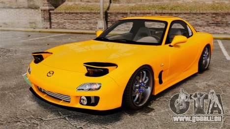 Mazda RX-7 FD3S pour GTA 4