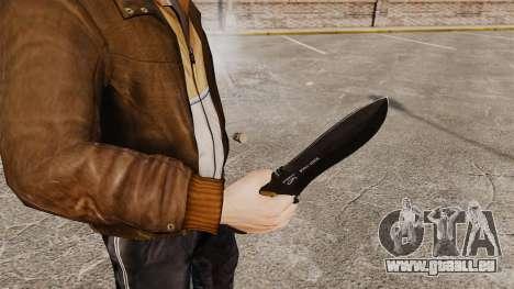 Couteau tactique v4 pour GTA 4 secondes d'écran