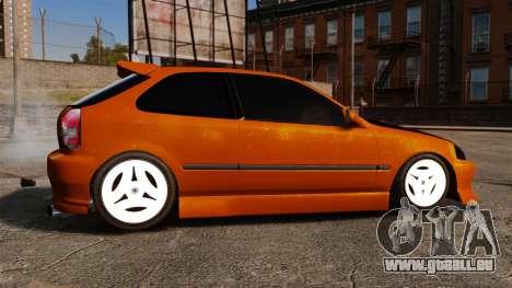 Honda Civic Gtaciyiz 2 für GTA 4 linke Ansicht