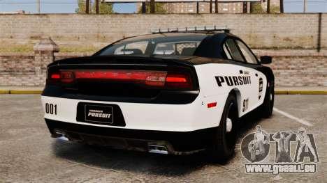 Dodge Charger Pursuit 2012 [ELS] für GTA 4 hinten links Ansicht