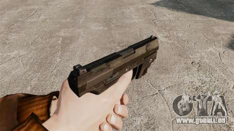 Walther P99 pistolet semi-automatique v1 pour GTA 4 secondes d'écran