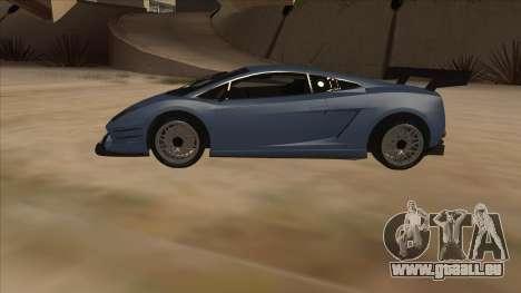 Lamborghini Gallardo LP560-4 Tuned pour GTA San Andreas laissé vue