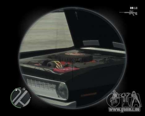 Plymouth Barracuda 1970 für GTA 4 Seitenansicht