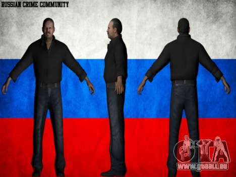 Russian Crime Community pour GTA San Andreas deuxième écran
