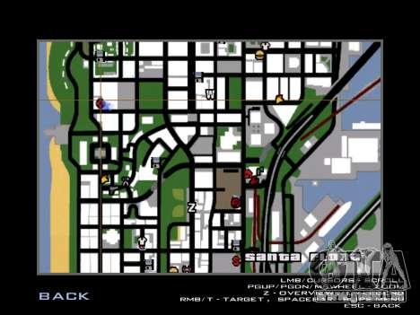 Renouvellement de l'hôpital de San Fierro pour GTA San Andreas cinquième écran