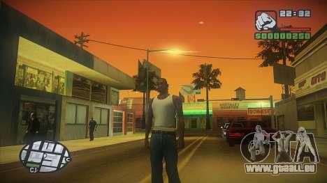 GTA HD Mod pour GTA San Andreas troisième écran