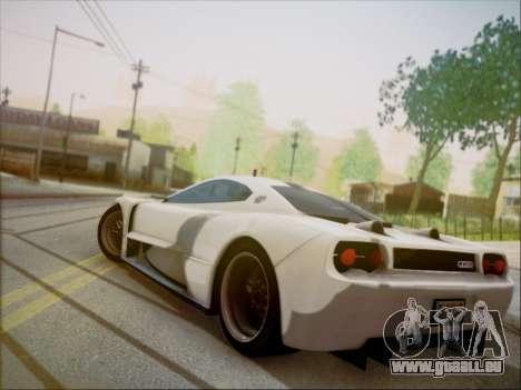 Joss JP1 2010 Supercar V1.0 pour GTA San Andreas laissé vue