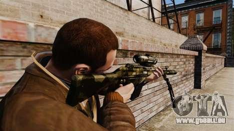 HK G3SG1 sniper rifle v2 pour GTA 4 secondes d'écran