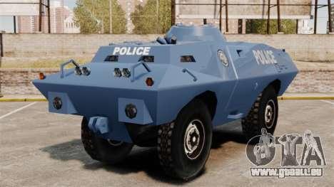 S.W.A.T. Police Van pour GTA 4