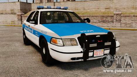 Ford Crown Victoria Police Massachusetts ELS für GTA 4