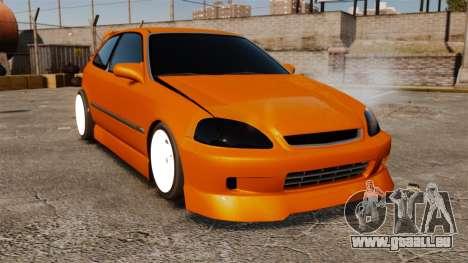 Honda Civic Gtaciyiz 2 pour GTA 4