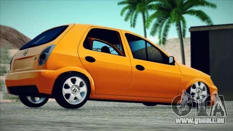 Chevrolet Celta für GTA San Andreas linke Ansicht