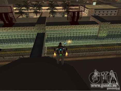 Le nouvel aéroport, Los Santos pour GTA San Andreas troisième écran