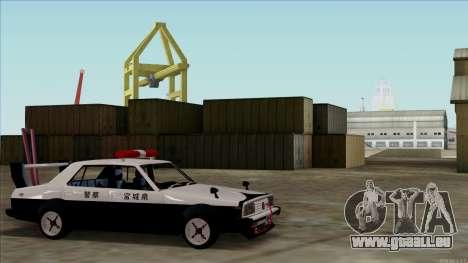Nissan Skyline Bosozoku für GTA San Andreas zurück linke Ansicht