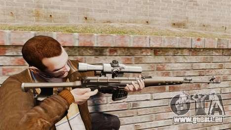 Dragunov sniper rifle v2 pour GTA 4