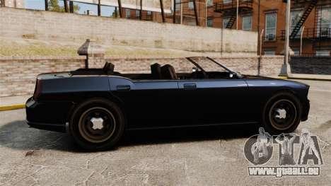 Limousine de Buffalo pour GTA 4 est une gauche