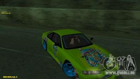Nissan Silvia S14 CIAY pour GTA San Andreas vue de droite