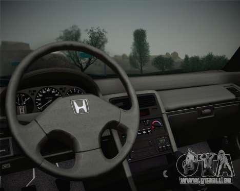 Honda CR-X 1991 pour GTA San Andreas vue arrière