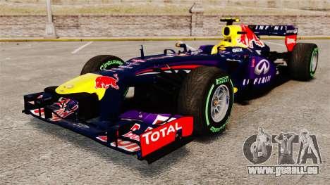 Auto, Red Bull RB9 v3 für GTA 4