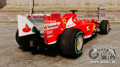 Ferrari F138 2013 v3 für GTA 4 hinten links Ansicht