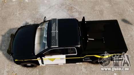 Ford F-150 v3.3 State Trooper [ELS & EPM] v1 pour GTA 4 est un droit