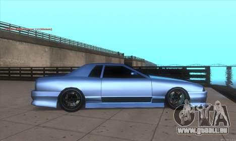 Elegy awesome D.edition pour GTA San Andreas laissé vue