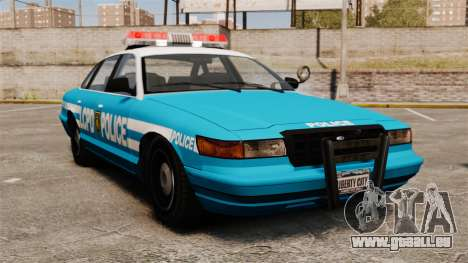 LCPD Police Cruiser pour GTA 4