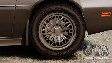 Imponte Phoenix 455 RS pour GTA 4 Vue arrière