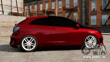 SEAT Ibiza für GTA 4 linke Ansicht