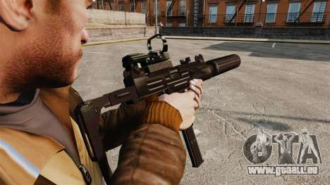 Taktische Uzi v2 für GTA 4 Sekunden Bildschirm
