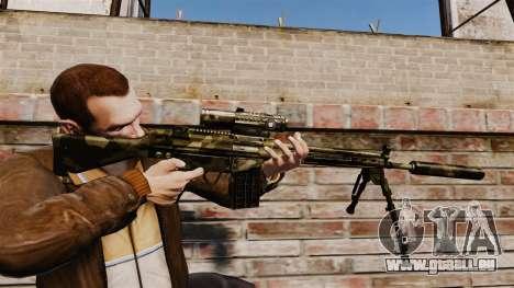 HK G3SG1 sniper rifle v2 pour GTA 4