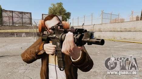 Taktische M4-v2 für GTA 4 dritte Screenshot
