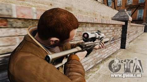 Dragunov sniper rifle v2 pour GTA 4 secondes d'écran